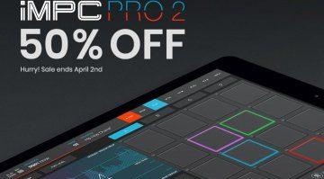 AKAI iMPC Pro 2 mit 50 Prozent Rabatt!