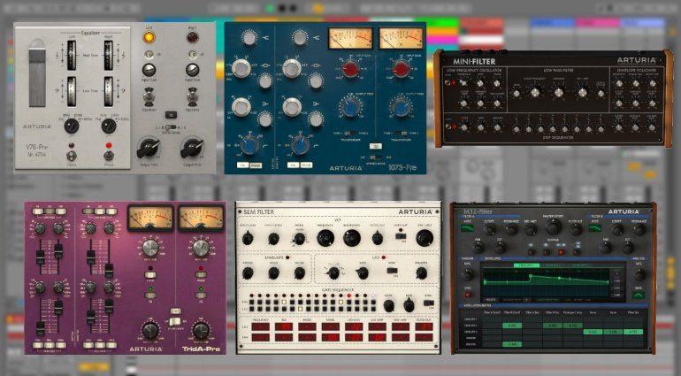 Arturia bringt sechs neue Effekt-Plug-in Emulationen