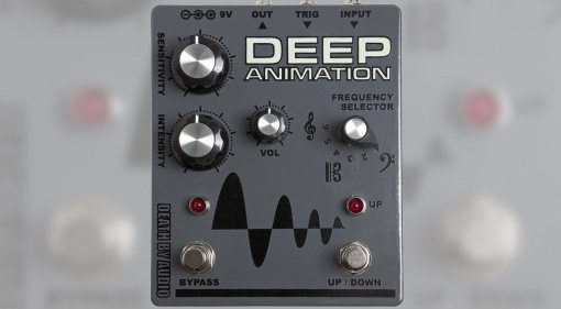 Death by Audio Deep Animation Pedal Front