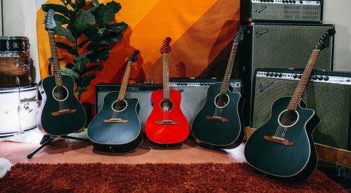 Fender California- Series Akustikgitarren