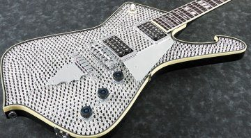 Ibanez Iceman Paul Stanley Signature PS1DM Close