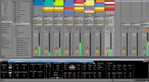 Kostenloser Novation Peak Editor für Max for Live