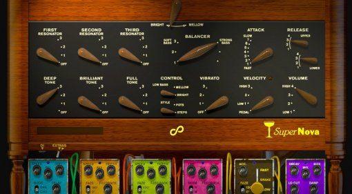 Champagne SuperNova Vintage Synthesizer für Reason
