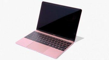 Aktuelles MacBook in Roségold