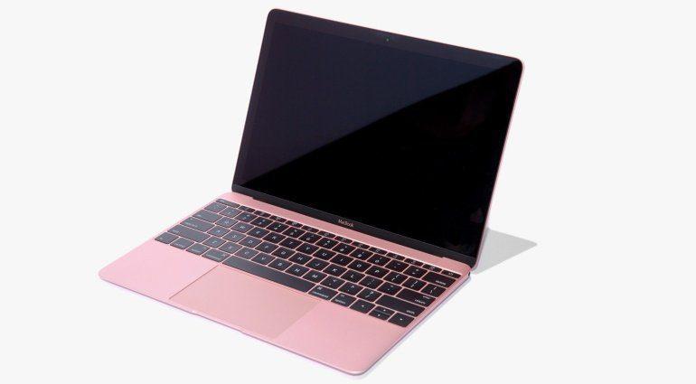 Aktuelles MacBook in Roségold