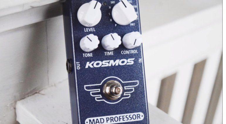 Mad Professor Kosmos Reverb Shimmer Effekt Pedal Front