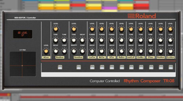 Momo Müller veröffentlicht den Roland TR-08 MIDI Editor