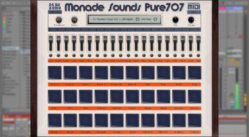 Monade Sounds Pure707 - eine Roland TR-707 im Rechner