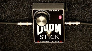 Mr Black Doom Stick Fuzz Pedal Effekt
