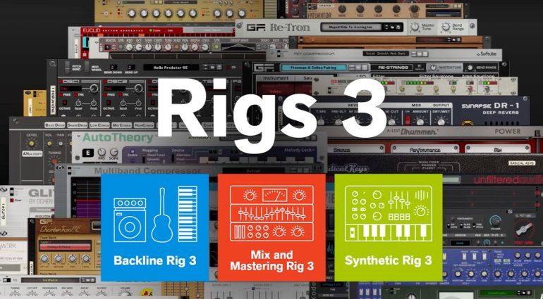 Propellerhead Rigs 3 - neue Sounds und Effekte im Bundle