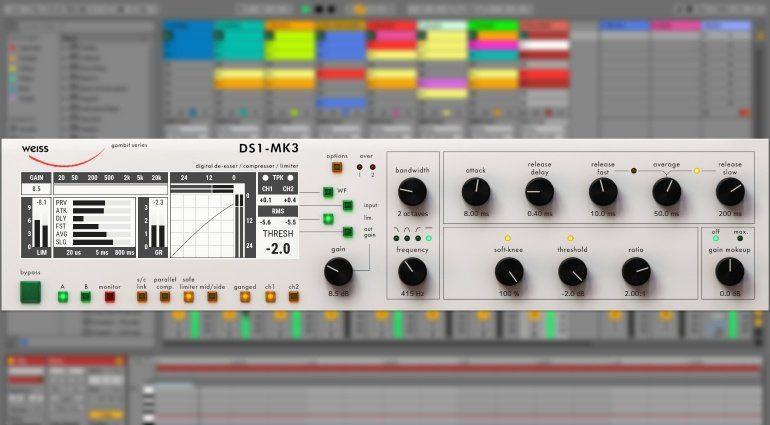 Softube bringt Weiss DS1-Mk3 Plug-in und einiges mehr!