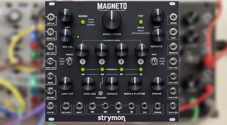 Strymon Magneto veröffentlicht - so klingt das Modul
