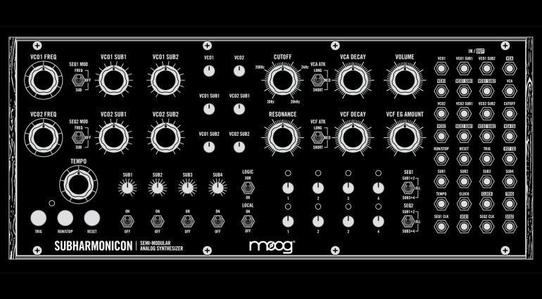 Moog enthüllt die Frontplatte des DIY Subharmonicon
