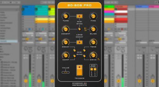 Synsonic-Instruments BD-808 Pro - mehr Funktionen für mehr Sound