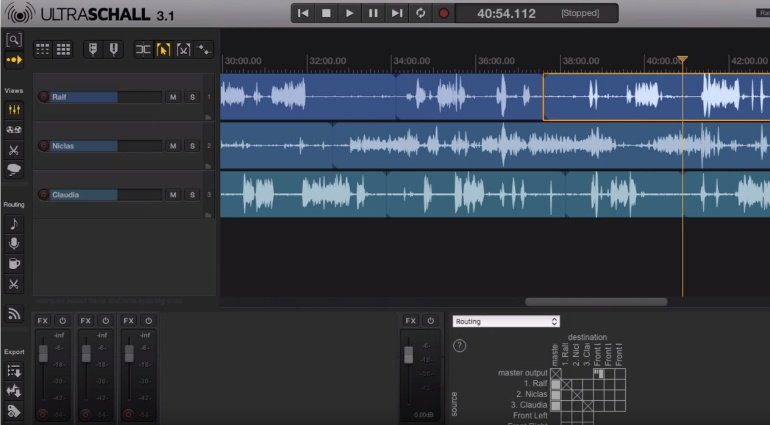Ultraschall 3.1 REaper Podcast Toolbox Teaser