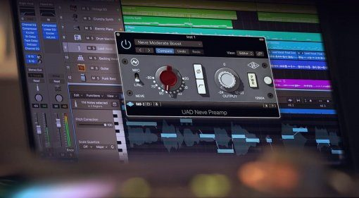 UAD Software v9.5.1 Update mit Neve Preamp Plug-in