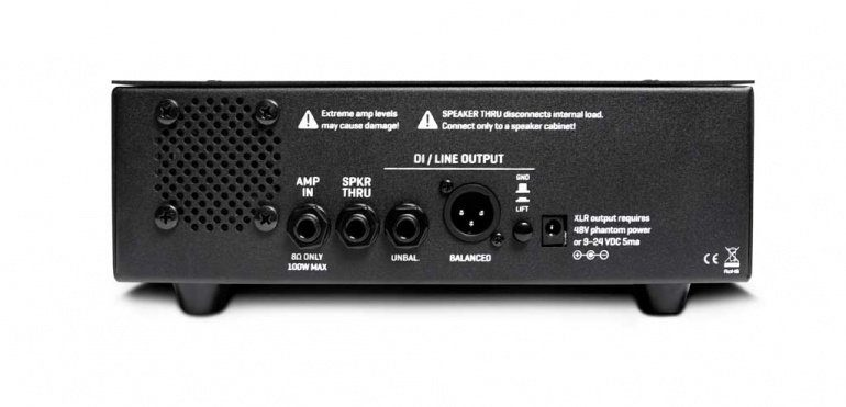 Fractal Audio X-Load LB-2 Rückseite