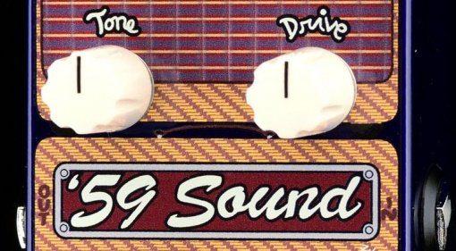 ZVex 59 Sound Vertical Effekt Pedal Overdrive Teaser