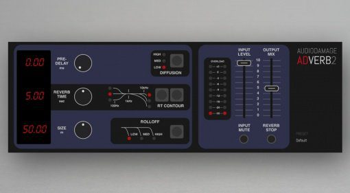 Audio Damage ADverb2 für noch mehr Reverb
