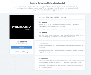 cakewalk by bandlab payment