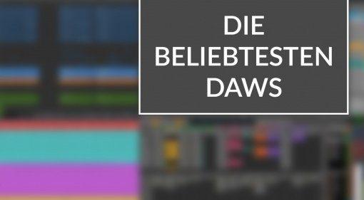 Die beliebtesten DAWs Teaser