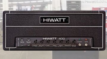 Hiwatt DR401 Musikmesse 400 WAtt Vollroehre BAss