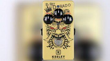 Keeley El Rey Dorado Pedal Effekt