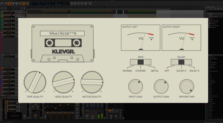Klevgrand DAW Cassette Band Emulation Plug-in Effekt