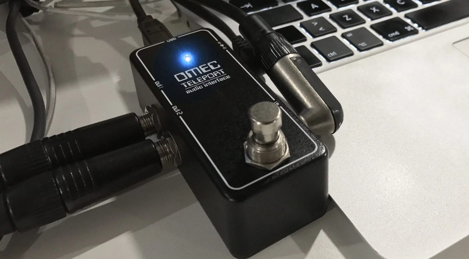 Usb Interface Im Pedal Orange Omec Teleport Gearnews De