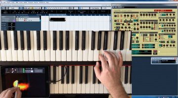 Pen2Bow steuert mit dem Apple Pencil Software-Synthesizer