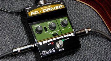 Radial Engineering AC Driver Akustik Preamp Effekt Pedal
