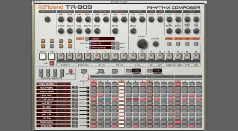Roland-TR909 Plugin