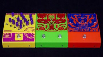 Snazzy FX Pedals Front Teaser