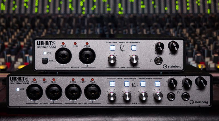 Steinberg Neve UR-TR2 UR-TR4 Interfaces Front
