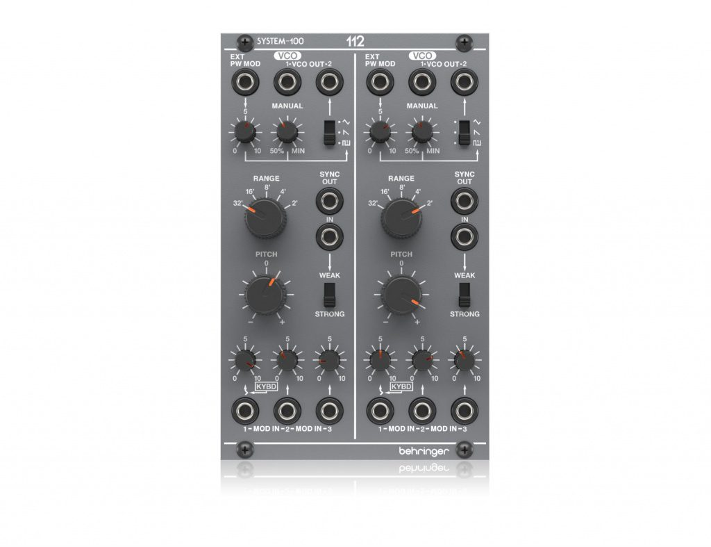 System 100m 112 Dual VCO