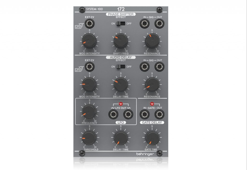 System 100M 172_Phase_Shifter-Audio_Delay-Gate_Delay-Lfo