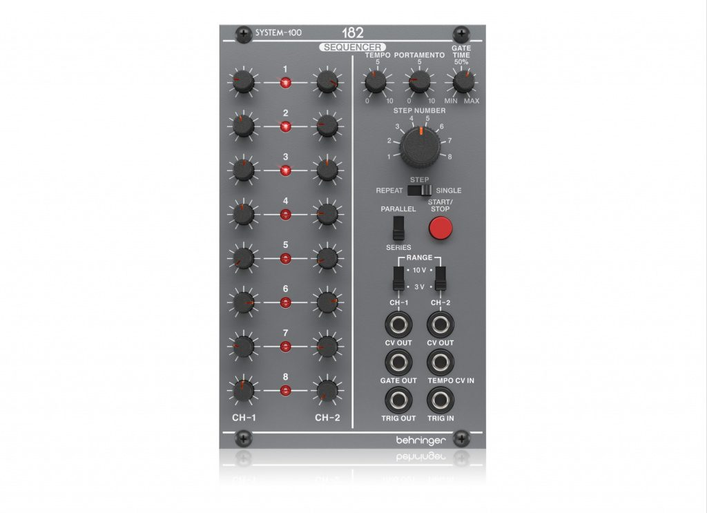 System 100m 182 Analog Sequencer