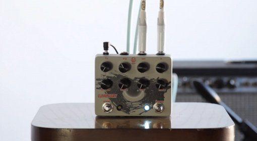 Walrus Audio Luminary V2 Effekt Pedal Quad Octave Generator