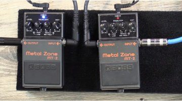 Wampler Boss Metal Zone MT-2 Mods Video