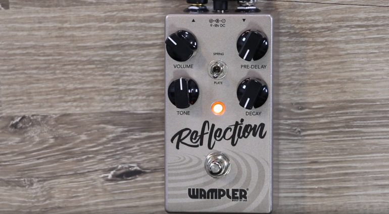 Wampler Pedals Reflection Effekt Reverb Front
