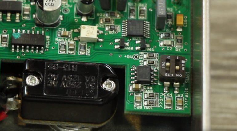 Wampler Pedals Reflection Effekt Reverb Intern DIP Switch
