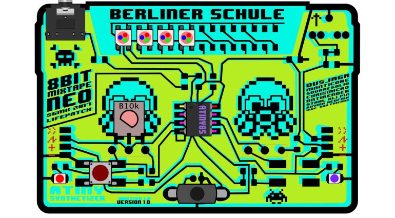 8BitMixtapeNEO - LoFi 8 Bit Synthesizer im Kassetten Look