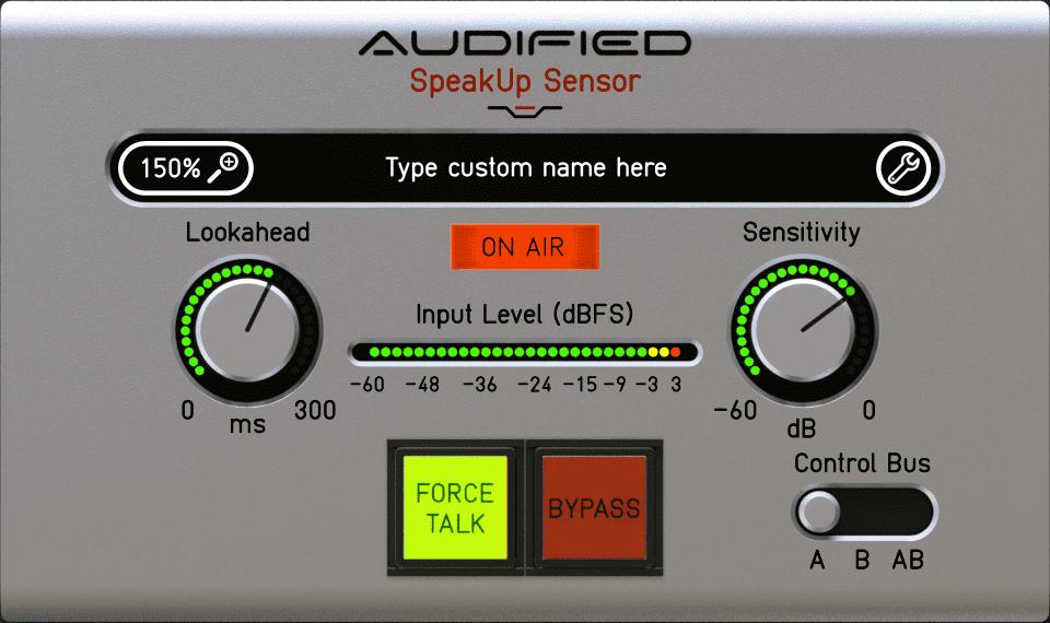 Audified SpeakUp Sensor