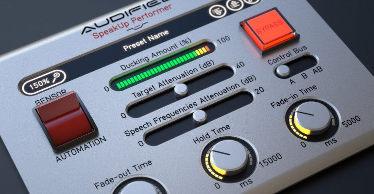 Audified SpeakUp Teaser Plug-in