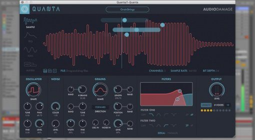 Superbooth 2018: Audio Damage Quanta mit Granularsynthese