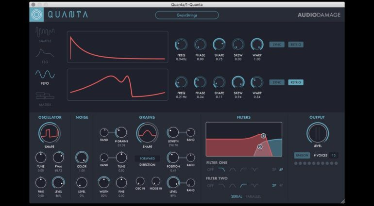 Superbooth 2018: Audio Damage Quanta mit Granularsynthese