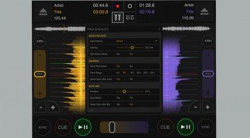DJ DEX für iPad