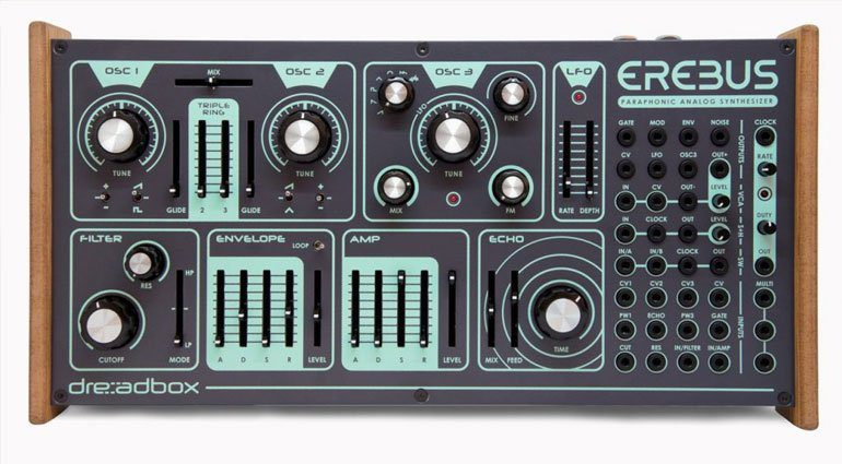Superbooth 2018: Dreadbox Erebus V3 Desktop Synthesizer