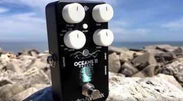 Electro Harmonix Oceans 11 Reverb Pedal Effekt Hall EHX