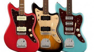 Fender JAzzmaster 60th Anniversary Triple Jazzmaster 58 Jazzmaster abd Classic Jazzmaster
